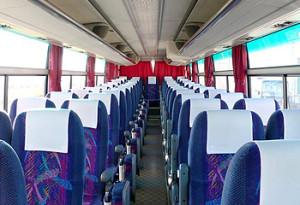 夜行バス4列シート