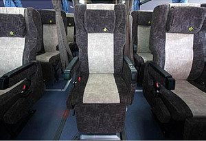 夜行バス3列独立シート