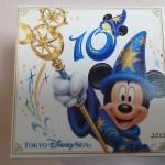 30周年ディズニーお土産_チョコクランチキュービック2011sea
