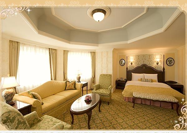 ディズニーホテル宿泊予約_コンシェルジュタレットルーム