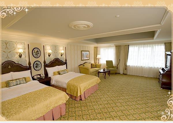 ディズニーホテル宿泊予約_コンシェルジュファミリールーム