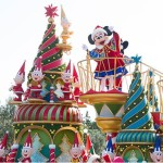 ディズニー・サンタヴィレッジ・パレード01
