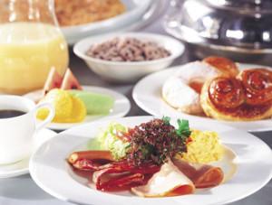 ヒルトン_朝食